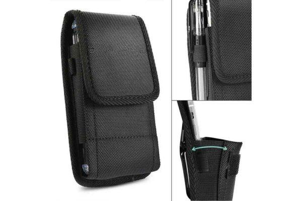 Bridge94-universal-Smartphone-Gürtel-Holster-Tasche-vertikal-horizontal-schwarz-9
