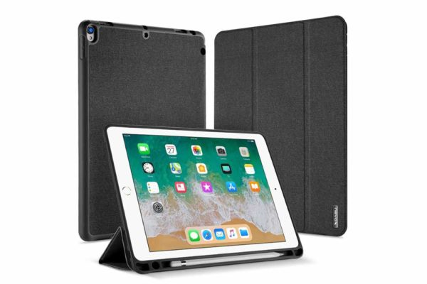 Nevox-Vario-Series-iPad-Pro-Air-10.5-Booktasche-basaltgrau-1