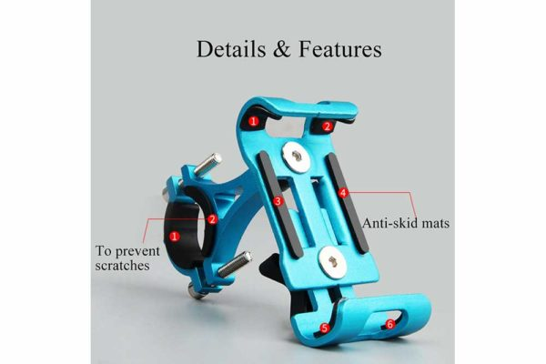 Smartphone-Halter-Fahrrad-Velo-Motorrad-Kinderwagen-4