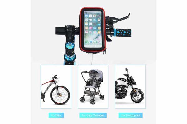 Smartphone-Halter-Wasserdicht-Velo-Motorrad-Kinderwagen-1