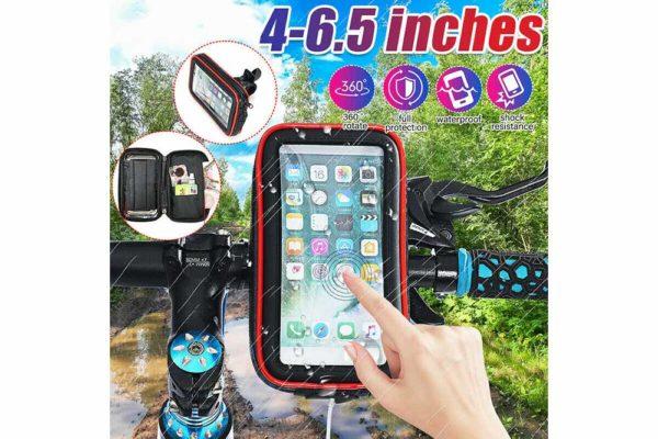 Smartphone-Halter-Wasserdicht-Velo-Motorrad-Kinderwagen-2
