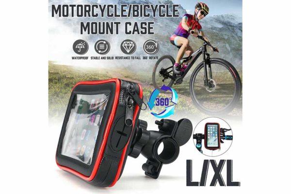Smartphone-Halter-Wasserdicht-Velo-Motorrad-Kinderwagen