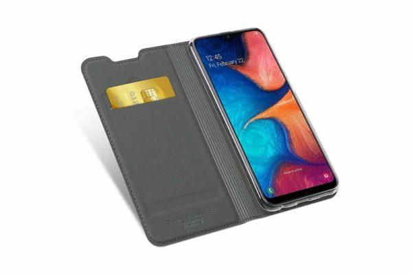 Nevox-Vario-Series-Samsung-A20e-Booktasche-basaltgrau