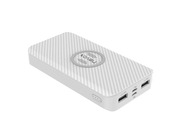 Nevox-Wireless-Qi-POWERBANK-10000mah-TRIPLE-Input-weiss-1