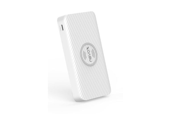 Nevox-Wireless-Qi-POWERBANK-10000mah-TRIPLE-Input-weiss-2