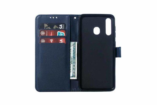 Bridge94-Samsung-Galaxy-A70-PU-Leder-Etui-Case-Huelle-Kreditkartenslots-Standfunktion-Magnetverschluss-1