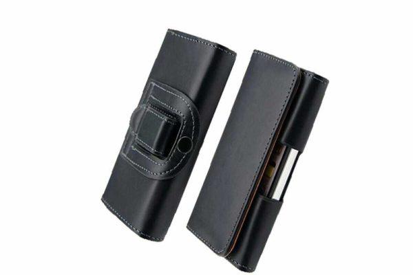 Bridge94-iPhone-Smartphone-Gürtel-Holster-Tasche-horizontal-quer-schwarz-glatt-9