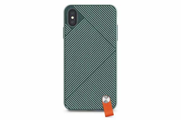 Moshi-Altra-duenne-Schutzhülle-Handschlaufe-iPhone-XS-Max-Waldgrün-2