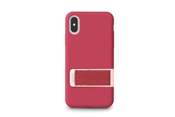 Moshi-Gehaeuse-Capto-Slim-MultiStrap-iPhone-XS-X-Himbeerrosa-1