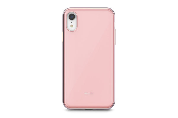 Moshi-Hartschalengehaeuse-iGlaze-Slim-iPhone-XR-Taupe-Pink-1