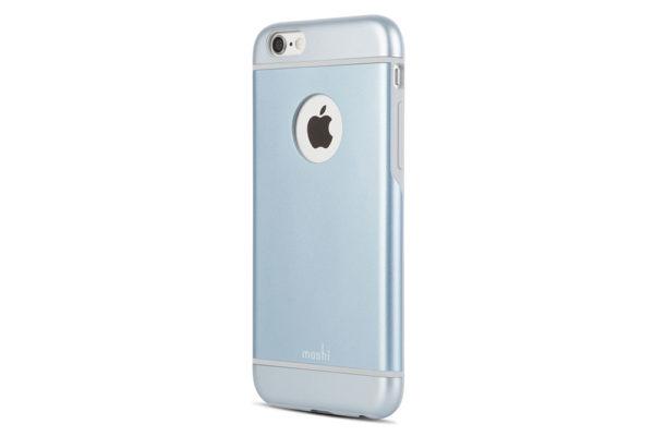 Moshi-iGlaze-schlankes-Premium-Case-iPhone-6-6s-Arktikblau-3