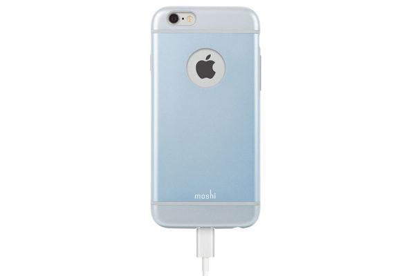 Moshi-iGlaze-schlankes-Premium-Case-iPhone-6-6s-Arktikblau-5