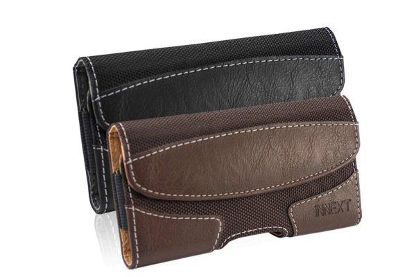 Bridge94-iPhone-Samsung-Gürtelholster-tasche-horizontal-braun-schwarz