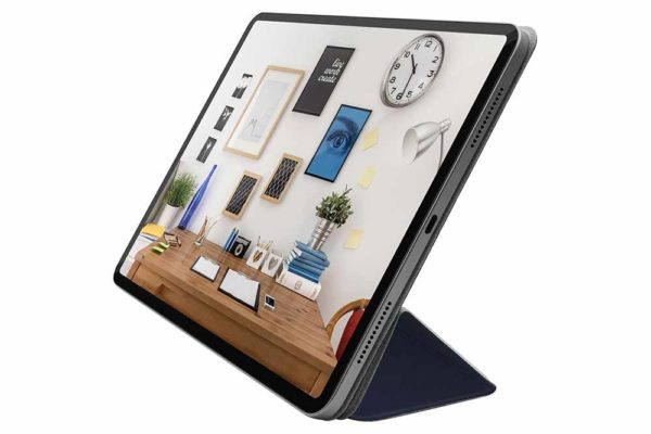 Macally-Bookstand-Schutzhülle-Stand-Sleep-Wakefunktion-iPad-12.9-2018-Blau-2