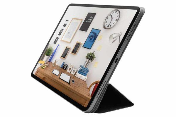 Macally-Bookstand-Schutzhülle-Stand-Sleep-Wakefunktion-iPad-12.9-2018-Schwarz-2