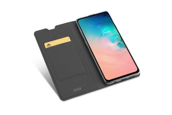 Nevox Vario Series-Samsung-S20-Booktasche-Kreditkartenfach-magent-basaltgrau-1