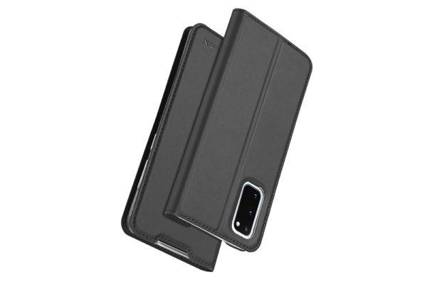 Nevox-Vario-Series-Samsung-S20-Booktasche-basaltgrau