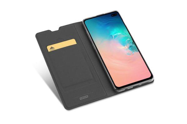Nevox Vario Series-Samsung-S20 Plus-Booktasche-Kreditkartenfach-magent-basaltgrau-1