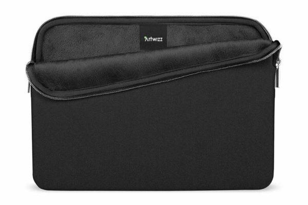 Artwizz-Neopren-Sleeve-Pro-Eleganter-Skin-MacBook-Pro-16-Aussenfach-Schwarz-1