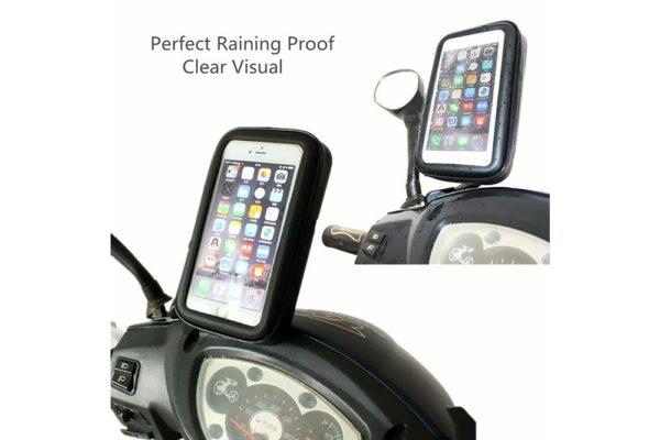Bridge94-Smartphone-GPS-Lenkerhalterung-wasserdicht-Motorrad-Velo-Fahrrad-Schwarz-3