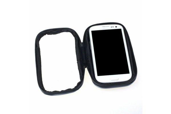 Bridge94-Smartphone-GPS-Lenkerhalterung-wasserdicht-Motorrad-Velo-Fahrrad-Schwarz-4