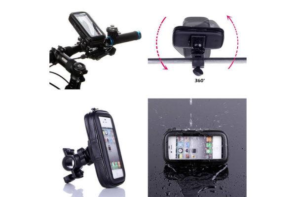 Fahrrad-Velo-Kinderwagen-smartphone-Halterung-4