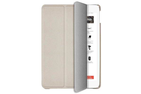Macally-Bookstand-Schutzhülle-Stand-Sleep-Wakefunktion-iPad-10.2-2019-Gold-2