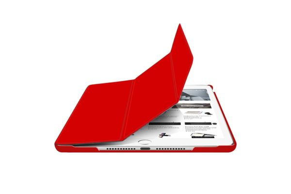 Macally-Bookstand-Schutzhülle-Stand-Sleep-Wakefunktion-iPad-10.2-2019-Rot