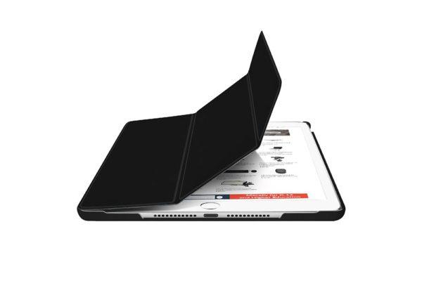 Macally-Bookstand-Schutzhülle-Stand-Sleep-Wakefunktion-iPad-10.2-2019-Schwarz