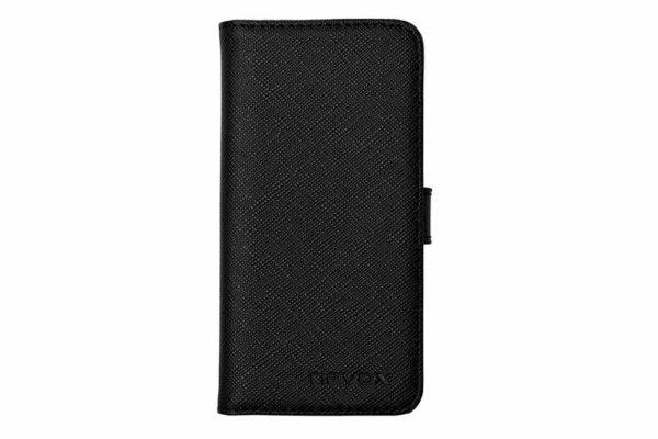 Nevox-ORDO-iPhone-SE-5S-5-Booktasche-schwarz-grau-2
