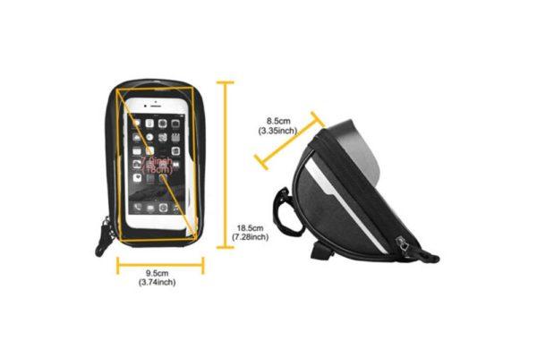 Wasserdichte-Fahrrad-Tasche-Pack-Schlauch-Kinderwagen-Smartphone-15