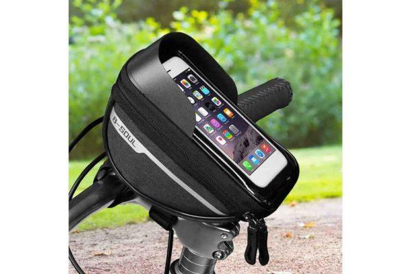 Wasserdichte-Fahrrad-Tasche-Pack-Schlauch-Kinderwagen-Smartphone-7