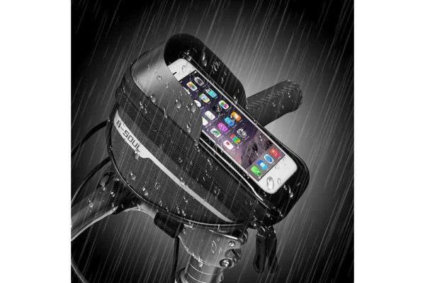 Wasserdichte-Fahrrad-Tasche-Pack-Schlauch-Kinderwagen-Smartphone-8