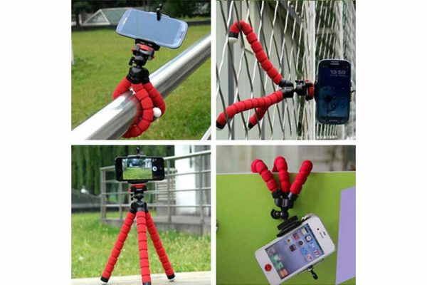 Flexible-Mini-Octopus-Stativ-Halterung-iPhone-smartphone-Handy-Kamera-3