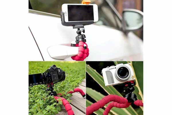 Flexible-Mini-Octopus-Stativ-Halterung-iPhone-smartphone-Handy-Kamera-4