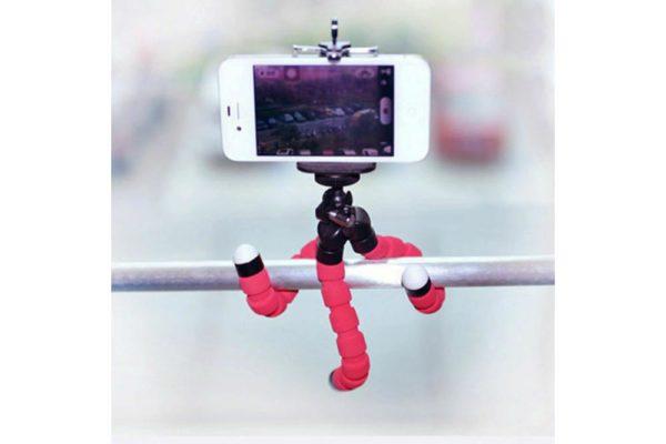 Flexible-Mini-Octopus-Stativ-Halterung-iPhone-smartphone-Handy-Kamera-5