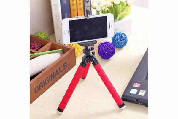 Flexible-Mini-Octopus-Stativ-Halterung-iPhone-smartphone-Handy-Kamera-9