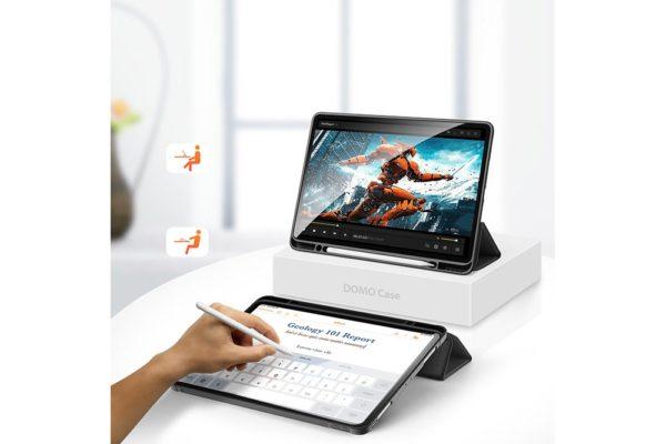 Nevox-Vario-Series-iPad-Pro-12.9-Booktasche-basaltgrau-5