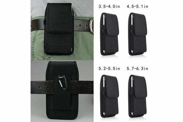 Universal-Smartphone-Gürtel-Holster-Tasche-vertikal-horizontal-schwarz-1