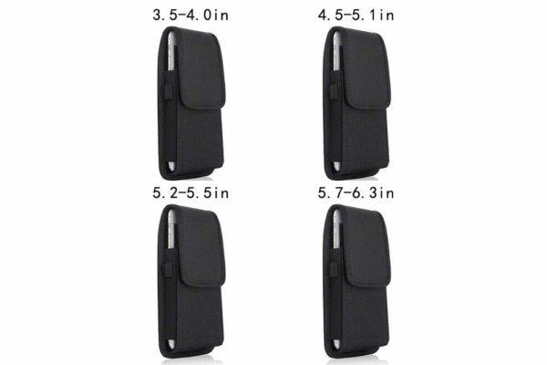 Universal-Smartphone-Gürtel-Holster-Tasche-vertikal-horizontal-schwarz-6