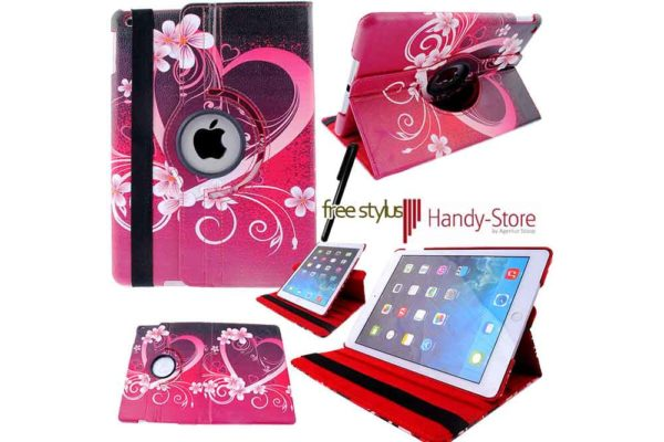 Hülle für iPad 2/3/4 - Love Hearts