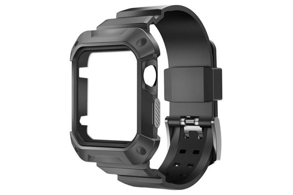 Bridge94-Apple-Watch-42 mm-Outdoor-Armband-schwarz-5