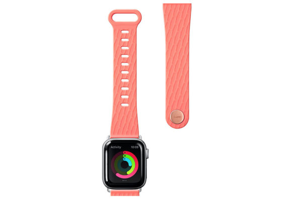 Apple-Watch-Sport-Armband-anibakteriell-Coral