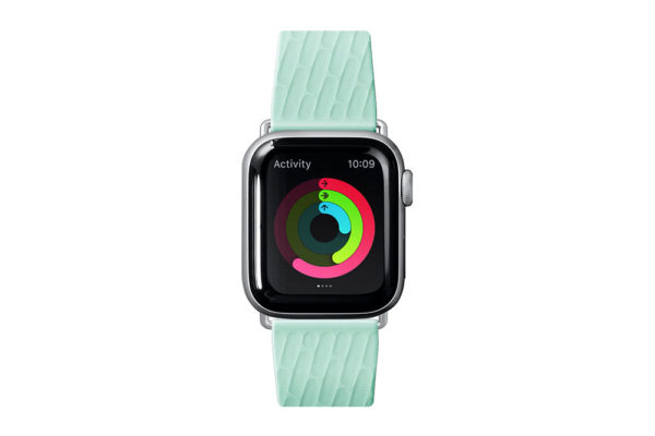 Apple-Watch-Sport-Armband-anibakteriell-Mint-2