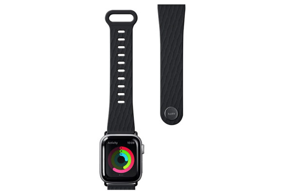 Apple-Watch-Sport-Armband-anibakteriell-Schwarz