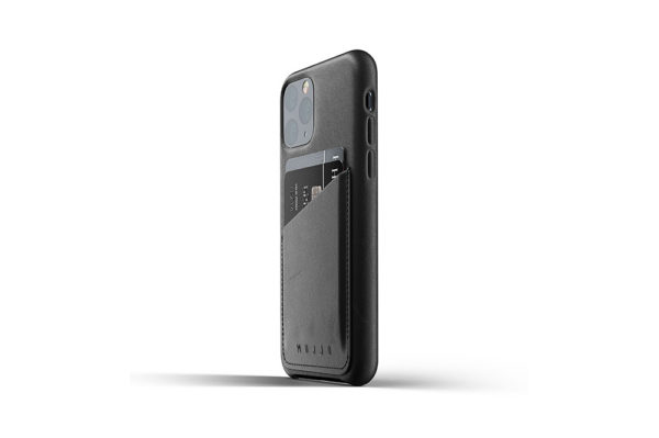 Full Leather Case for iPhone 11 Pro - Black -3
