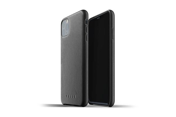 Full Leather Case for iPhone 11 Pro Max - Black-1
