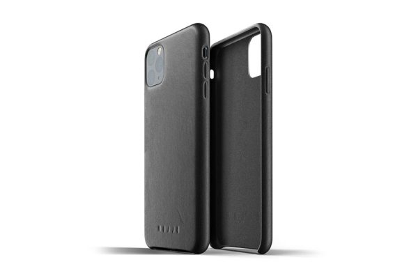 Full Leather Case for iPhone 11 Pro Max - Black-2