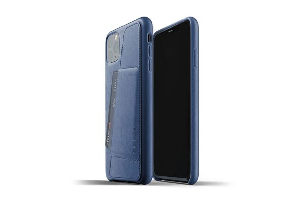 Full Leather Case for iPhone 11 Pro Max - Blue -2