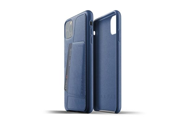 Full Leather Case for iPhone 11 Pro Max - Blue